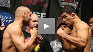 Fighters tip the Scales at the UFC® 102 Weigh In