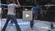 Fighters get their last chance to warm up inside the Octagon™