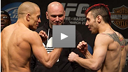 Watch the UFC® 111 official Weigh In
