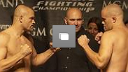 UFC 54 Weigh In