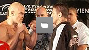 UFC 61:BITTER RIVALS  WEIGH IN