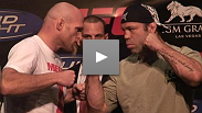 Wanderlei Silva and Keith Jardine at the UFC 84 Press Conference.