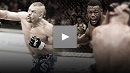 Chuck Liddell and Rashad Evans at the UFC® 88 Open Workout