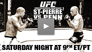 Watch the rematch of St-Pierre vs Penn FREE on Spike TV Saturday night!