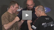 Former Champions Matt Hughes and Matt Serra on their battle at UFC® 98