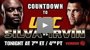 Another Chance to Catch the Countdown to Silva vs Irvin on Versus Tonight