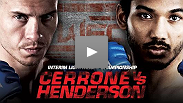 Donald Cerrone and Ben Henderson battle it out for the WEC interim Lightweight title
