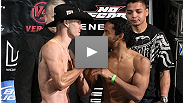 Fighters tip the scales at the WEC® Cerrone vs. Henderson Weigh In