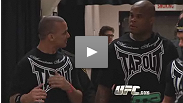 Gilbert Yvel's trainer analyzes the international star''s Octagon debut