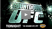 Countdown to UFC 114 premieres Wednesday night on Spike
