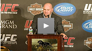 Dana White talks about the fights and the crowd at UFC 108