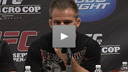 Sean Sherk and Evan Dunham discuss their incredible Fight of the Night, moral victories, and giving the fans their money's worth with the media following UFC 119 on Saturday night.