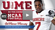 Vote for Oklahoma's star running back DeMarco Murray to be on the cover of EA Sports NCAA Football 12! Visit facebook.com/easportsncaafootball to cast your vote.