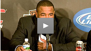 Hear Rashad Evans at post-fight press conference