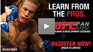 Urijah Faber talks about what's in store for the students at his training seminar on Saturday - sign up now!