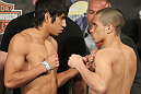 UFC Fight for the Troops Weigh in: Campuzano vs. Cariaso