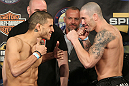 UFC Fight for the Troops Weigh in: Johnson vs. Guymon
