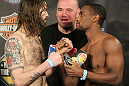 UFC Fight for the Troops Weigh in: McKenzie vs. Edwards