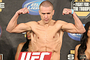 UFC Fight for the Troops Weigh in: Mark Hominick