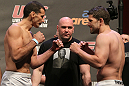 UFC 127 Weigh-in: Perosh vs. Blackledge