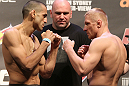 UFC 127 Weigh-in: Sotiropoulos vs. Siver