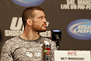 UFC 128: Pre-Fight Press Conference: Nate Marquardt