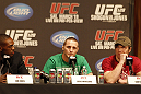 UFC 128: Pre-Fight Press Conference: Jon Jones, Eddie Wineland and Dan Miller