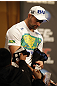 UFC 128: Pre-Fight Press Conference: (L-R) Shogun Rua