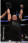 UFC 128: Gleison Tibau celebrates his win