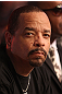 Actor Ice-T takes in the fights at UFC 128 at the Prudential Center on March 19, 2011 in Newark, New Jersey.
