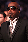 Rapper M.C. Hammer takes in the fights at UFC 128 at the Prudential Center on March 19, 2011 in Newark, New Jersey.