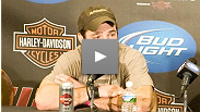 Jim Miller and Jake Ellenberger at post-UFC 108 press conference