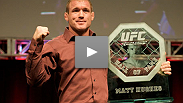 See Matt Hughes as he&#39;s inducted into the UFC Hall of Fame at the May 2010 UFC Fan Expo