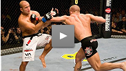 At UFC® 58 in March of 2006, former welterweight champion BJ Penn returned to the Octagon™ for the first time in two years, but he's got a tough customer in front of him in Canadian star Georges St-Pierre.
