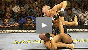 Georges St-Pierre stunned the MMA world with a dominating one round annihilation of former title challenger Frank Trigg at UFC® 54 in 2005.