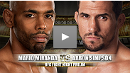 [en Español] UFC Fight Night Prelim: Mario Miranda vs Aaron Simpson