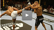 Georges St-Pierre makes an impressive statement in hsi second fight inside the Octagon™ by making short work of Jay Hieron.