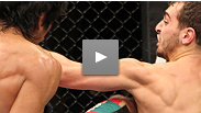A relaxed Nick Pace turns a modified triangle into a last-minute, never-before-seen submission in his UFC debut.