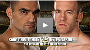 TUF&reg; 12 Finale Prelim Fight: Sako Chivitchian vs Kyle Watson