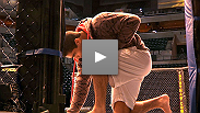 The stars of UFC 119 take their first steps inside the Octagon on fight day.