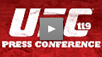 UFC 119 Post-Fight Press Conference