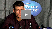 The night's biggest star brings home a win in a Fight of the Night war with Akiyama - hear from Michael Bisping at the post-UFC 120 press conference.