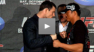 UFC 120: Two international men of mystery - The Count and Sexyama - speak at a lively pre-fight press conference in London.