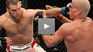 Matt Hamill at UFC 121: A relieved Hammer pounds his former teacher Tito Ortiz - and now he gets to hit the hammock.