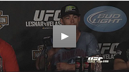 Hear from three of UFC 121's main card winners at the post-fight press conference: Jake Shields, Brendan Schaub and Diego Sanchez.