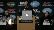 UFC 121 Press Conference: Dana, Brock, Cain, Tito, Matt, Jake, Martin and Brock's beard answer questions about the biggest fight card of the year.