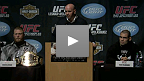 UFC 121 Pre-Fight Press Conference in LA