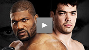 "Two of the premier light heavyweights of the modern era meet when ""Rampage"" Jackson and Lyoto ""The Dragon"" Machida battle it out in a showdown pitting the aggressive style of knockout artist Jackson against the unorthodox wizardry of Brazil's Machida."