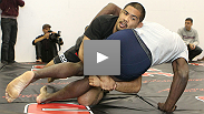 Open workouts: See the men of the UFC 123 main card - who's coming out aggressive, who's gonna rough you up and who's pumped for a big-name matchup.