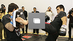 UFC®123: Open Workouts Photo Gallery